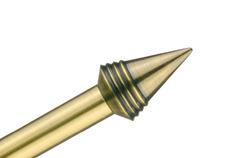 Karnisze metalowe – elementy Ø19